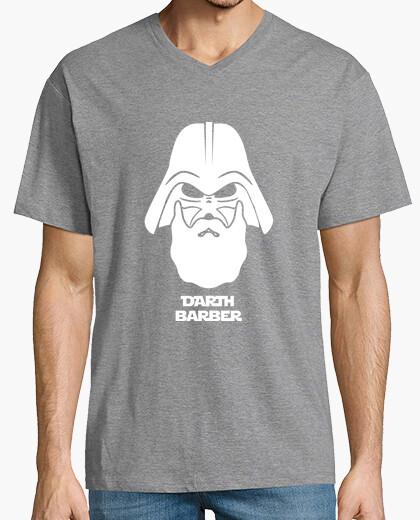 Vader darth white barber t-shirt
