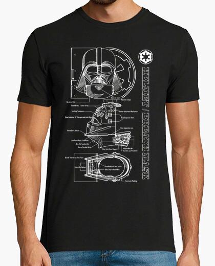 Vader's helmet t-shirt