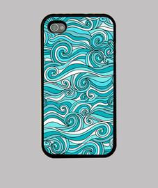 vagues de la mer