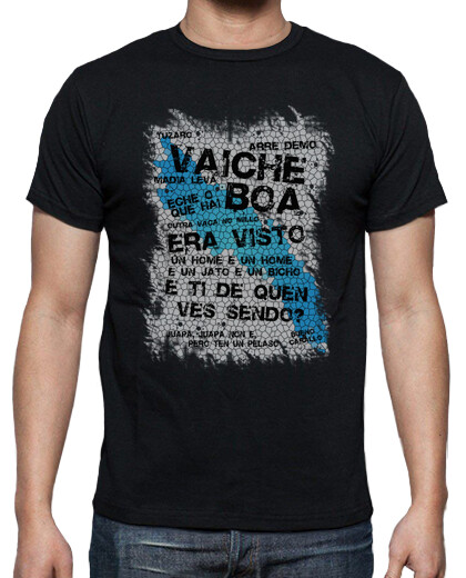Open T-shirts in galician