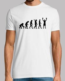 vainqueur de la boxe de l'évolution