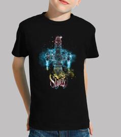 vaisseau spatial brillant