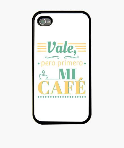 Funda iPhone Vale, pero primero mi café