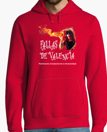 Valencia faults dark background - sweat fruit hoody
