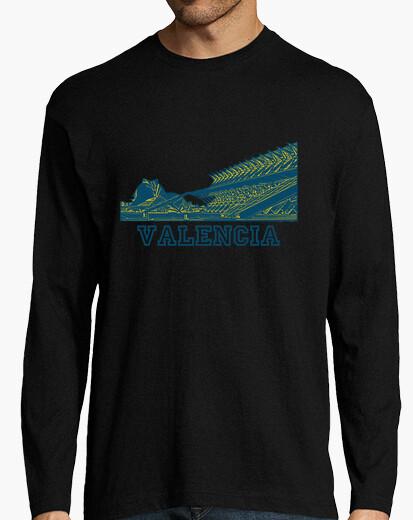 Camiseta Valencia oro