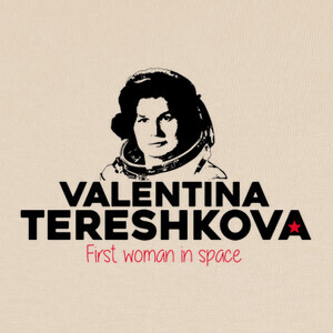Camisetas Valentina Tereshkova