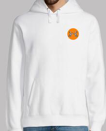Valkyrie wolves white sweatshirt