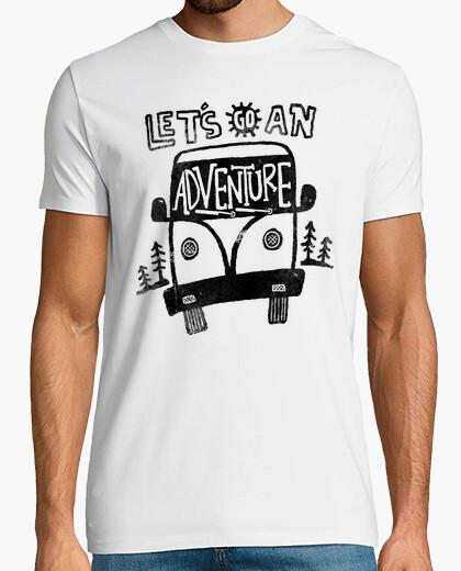 Camiseta vamos a una aventura por la oscuridad