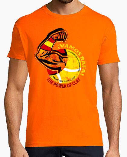 Camiseta VAMOS RAFA! The power of clay