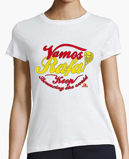 Camiseta Vamos Rafa! Vintage