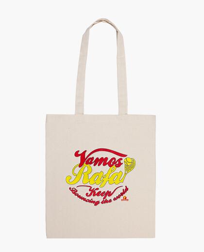 Vamos rafa! vintage bag