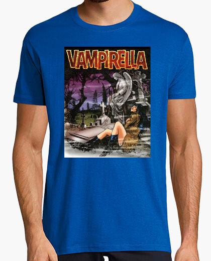 Camiseta Vampirella cementerio