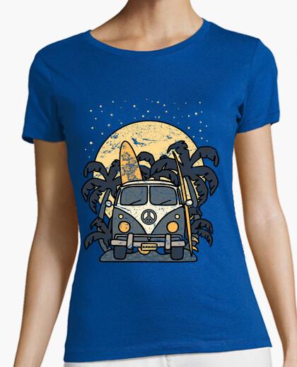 Tee-shirt van cru nuit de surf