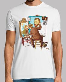 Van Gogh triple auto-portrait