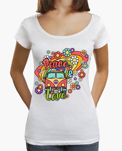 Tee-shirt van paix and de l' amour