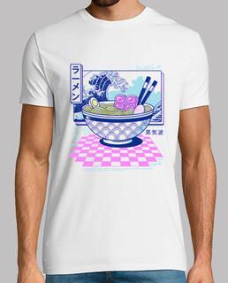 vaporwave ramen shirt herren