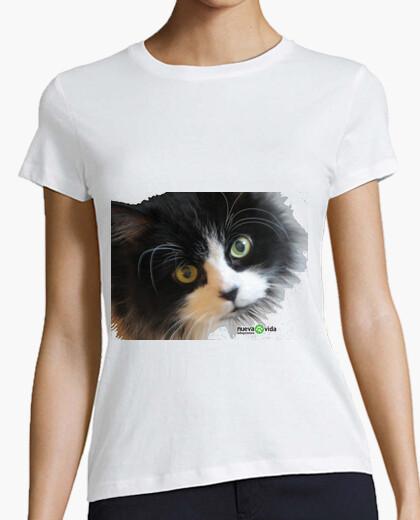Tee-shirt vaquita chat