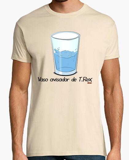Camiseta Vaso avisador de T.Rex