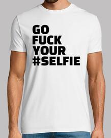 vaya a la mierda tu selfie
