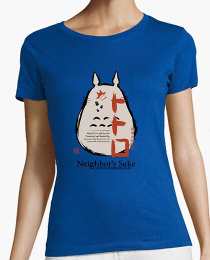 Camiseta vecinos sake damas en forma
