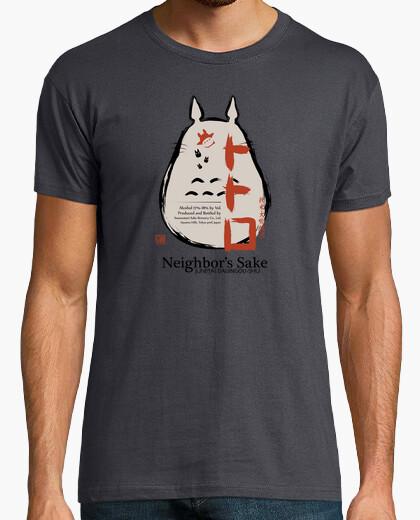 Camiseta vecinos sake mens / unisex