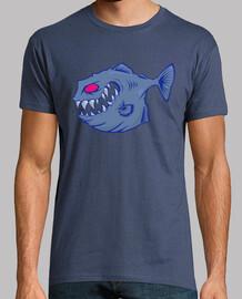 vector piranha a 7 colori.