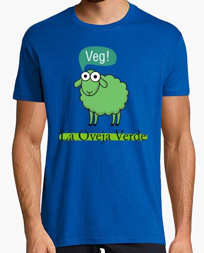 Camiseta Veg, la oveja verde