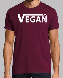 Vegan Blanca Hombre, manga corta