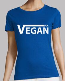 Vegan Blanca Mujer, manga corta