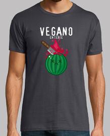 vegan in series t-shirt