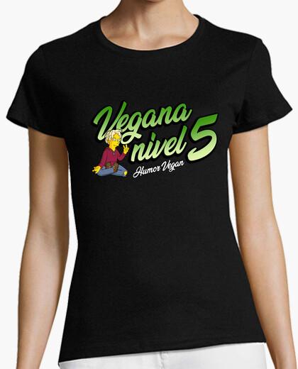 Vegan level 5 t-shirt