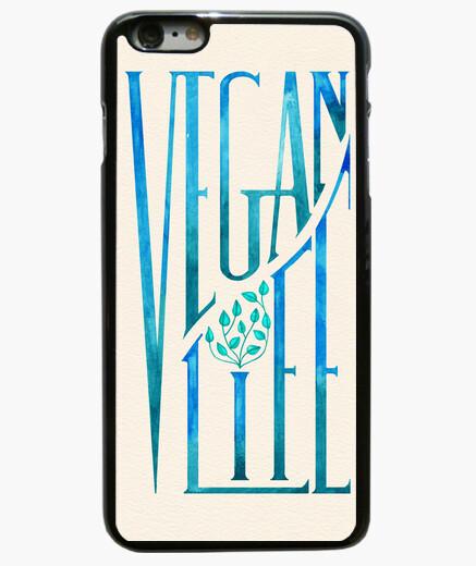 Funda iPhone 6 Plus / 6S Plus Vegan Life (print)
