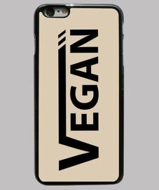 Vegan Negra Funda iPhone 6 Plus