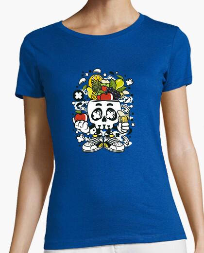 Camiseta VEGAN SKULL