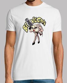 vegan tofu, man