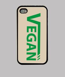 Vegan verde Funda iPhone 4