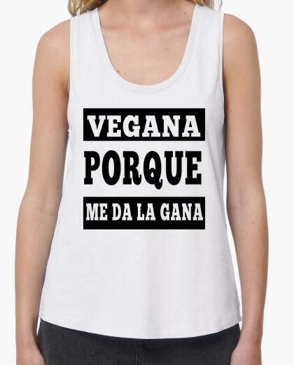 Camiseta Vegana porque me da la gana