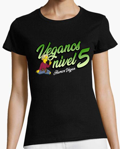 Vegans level 5 t-shirt
