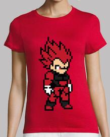 Vegeta 8bit (Camiseta Mujer)