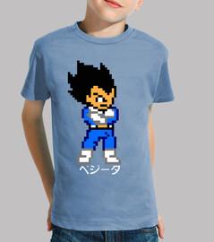 Vegeta 8bit (Camiseta Niño)