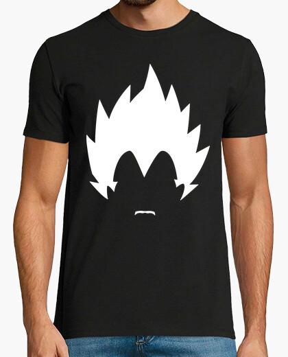Camiseta Vegeta con Bigote