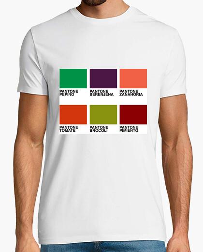 Vegetable pantones t-shirt