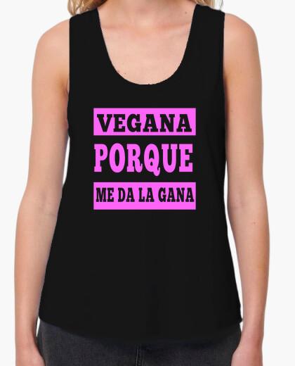 Tee-shirt végétalien parce que je me sens comme il