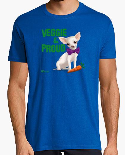 Camiseta Veggie and Proud
