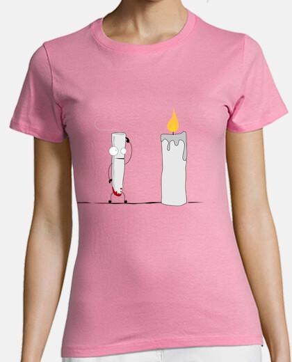 velas damas envidia camiseta
