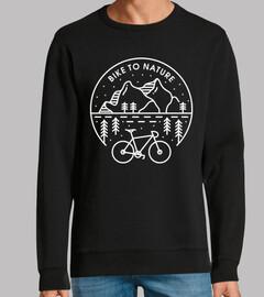 vélo à la nature