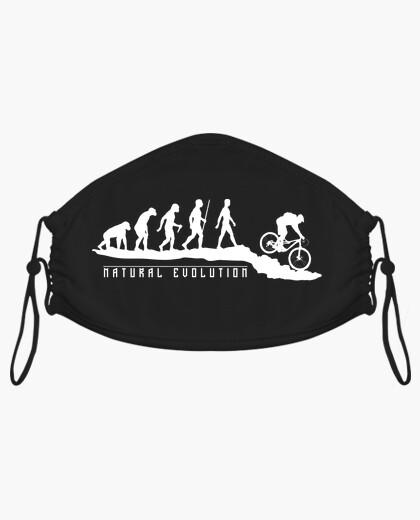 Masque vélo de montagne évolution naturelle