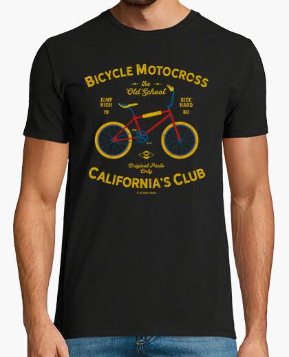 Tee-shirt vélo motocross californie
