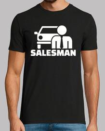 vendedor de automóviles