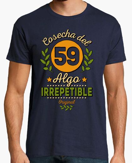 T-shirt vendemmia del 59 irripetibile